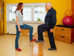 Ergotherapie Bewegung üben